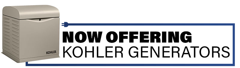 now offering kohler generators